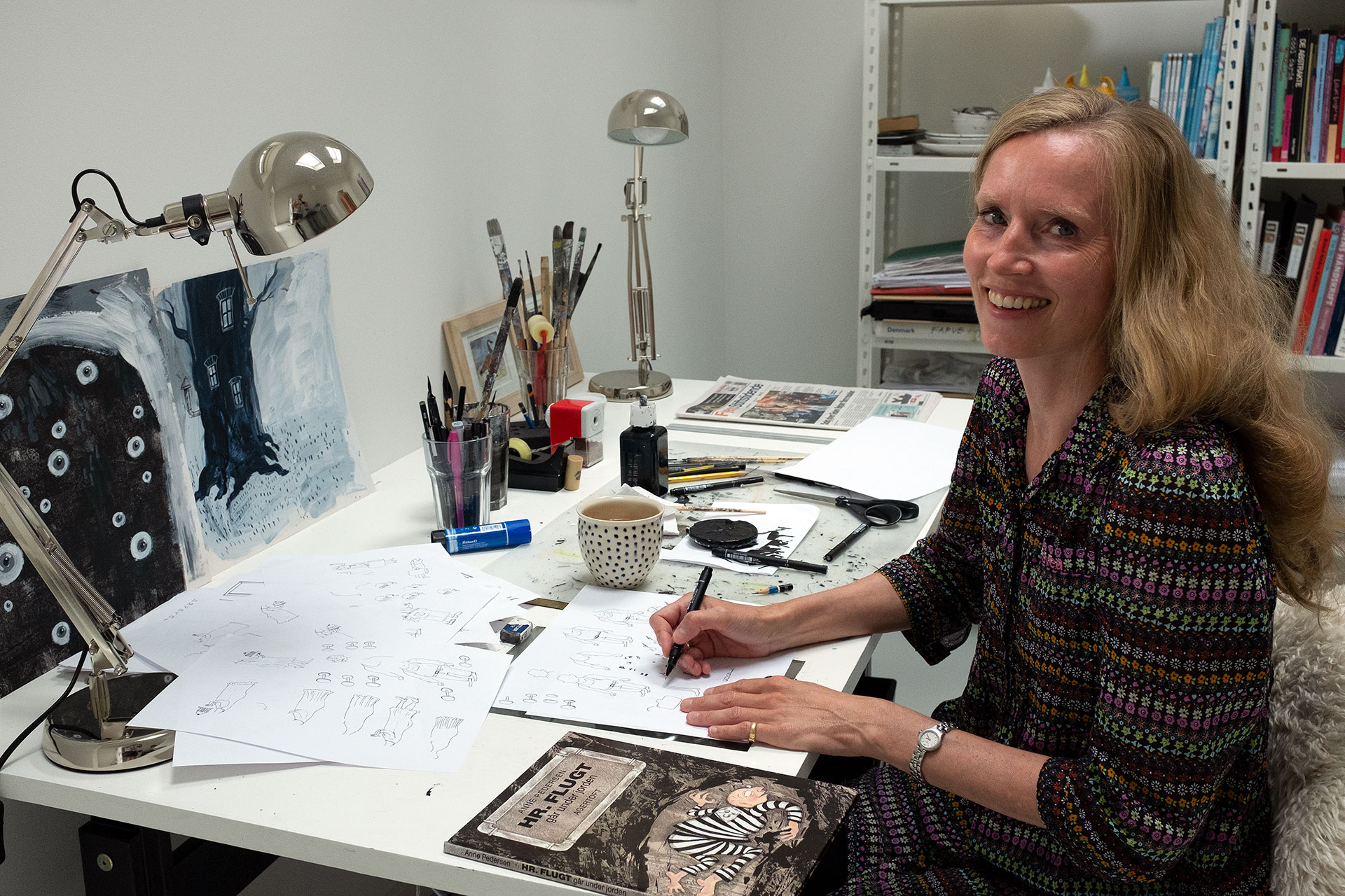 Illustrator Anne Pedersen