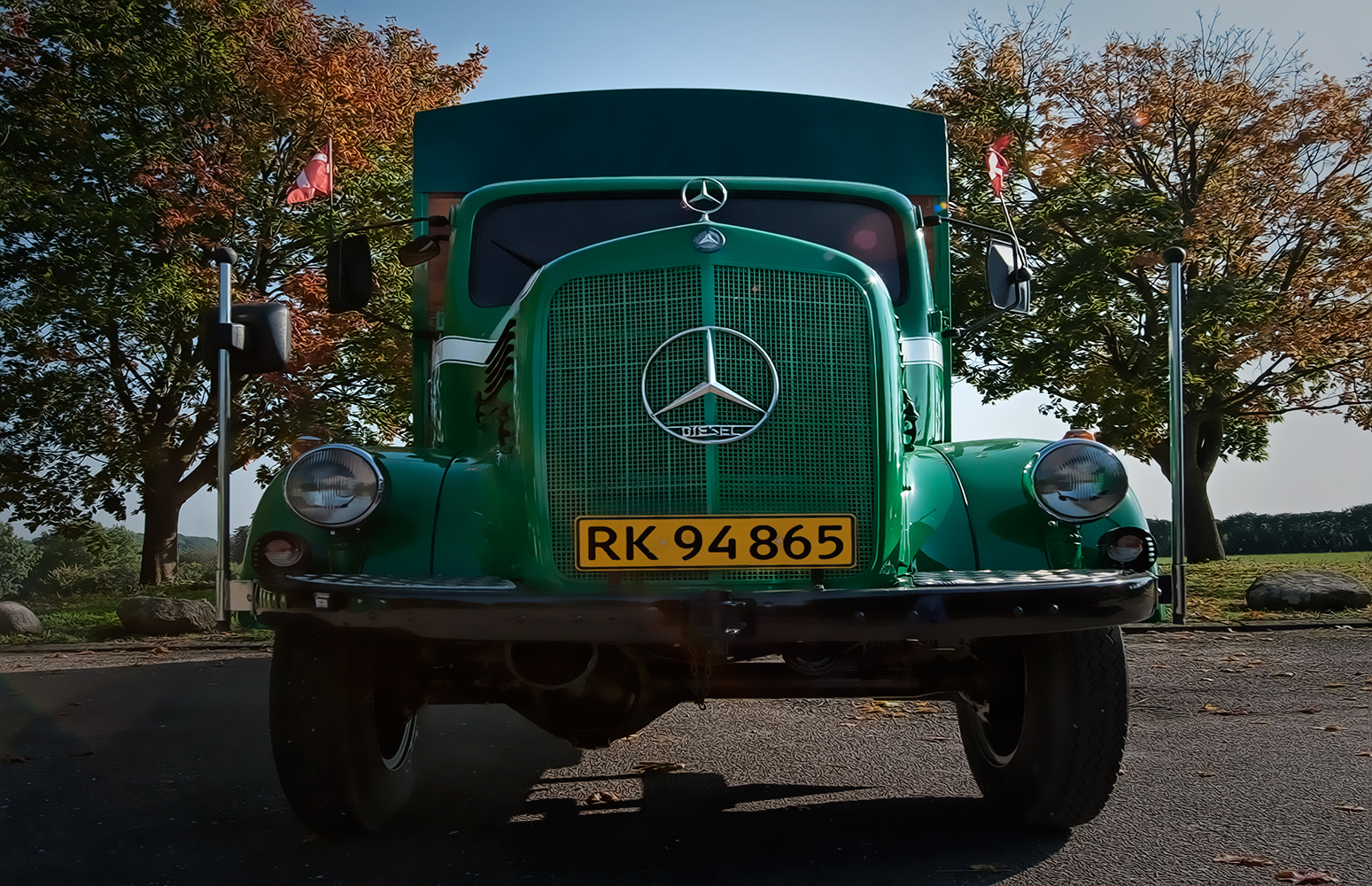 Mercedes-Benz model 312 årgang 1959